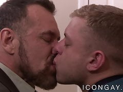 Mature stepdad Max Sargent ass bangs young gay stepson