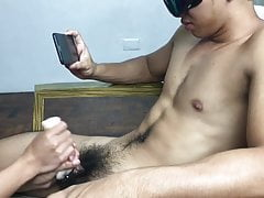 Hairy Sexy Dude Cums on Fleshlight