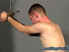 Teen bodybuilder bondage and gay male extreme first time Aiden is weak as Adam gets his