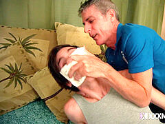 Aiden Valentine gripped and sole Worshiped