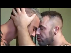 wet rough kissing