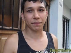 Latin twink straighty spermed
