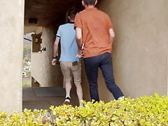 NextDoorTwink - Fit Teen Boys Fucking In The Rain