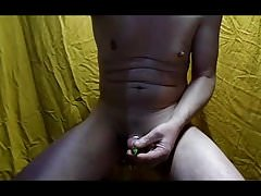 tribute neetles inside cock and electro hard urethra cam1