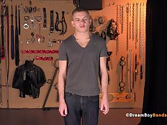 Twink Ian Levine Bound and Beaten BDSM Gay Bondage Whipping