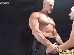 BoyForSale - Silver father Dallas Steele breeds victim with monster boner