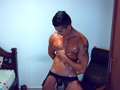 sizzling boy on cam dance and jerk off