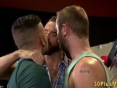 Hairy bearded stud 3way