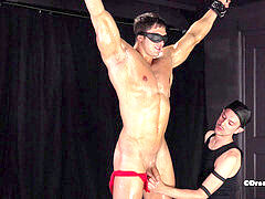 super-steamy Muscle fellow Dominated in Hardcore BDSM dungeon space