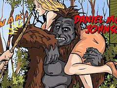 succulent Prudence and the erotic adventure of Bigfoot