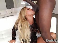 Bouncing huge ass on BBC - Kelsi Monroe