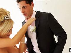 Slut Fucks Best Man On Her Wedding Day Tasha Reign