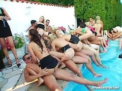 Sex Party At The Pool
