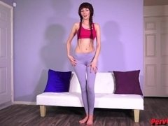 Hurt Your Balls For Sablique GYMSHARK LEGGINGS FEMDOM POV