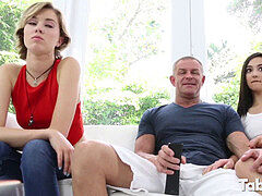 Malina Mars tears up step-dad