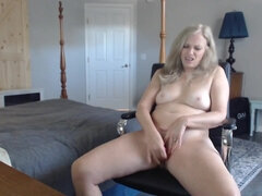 Sexy blonde wife webcam porn show