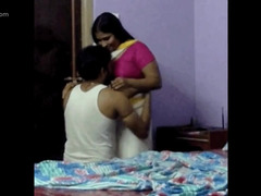 Indian man drills his obedient BBW wife in doggystyle