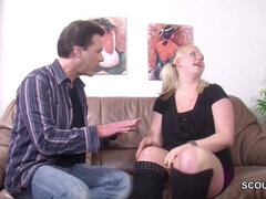 Step-dad Seduce German NOT his daughter to Pound if Mature away