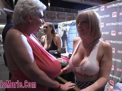 Claudia Marie bares giant boobs to get orgasm