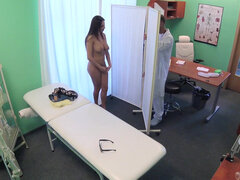 French girl Anissa Kate swallows cum like a champ