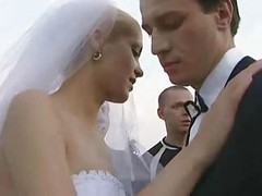 Bride Fucked Outdoors By A number of Guy!
