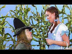 old-school The Wizard Of Oz Parody