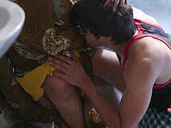 hot Surekha Aunty Romance With youthful school Student