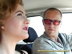 redhead german picked up for porn