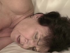 Hot granny Lisbeth loves young cock