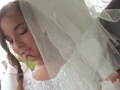 Hungarian babe Amirah Adara is a very nasty bride