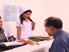 Hot Indian Nurse Amazing Porn Video