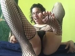 Shemale Pornstar Alhena Adams Showing Off Her Feet And Soles 4 Pornhub