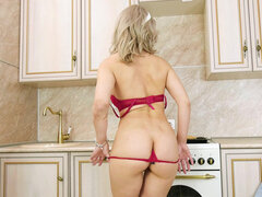 Horny milf Water Fire is eager to have a good time with or without a partner