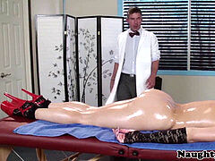 personal rubdown time for Anikka Albrite