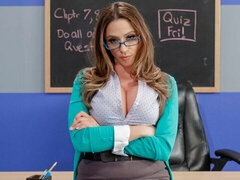 Big-boobed MILF Ariella Ferrera feels a huge penis deep in her hole