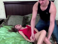 Svetlana's asshole takes time to close after hardcore anal