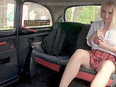 faux taxi sloppy driver fucking a hot teen virgin Vera Jarw