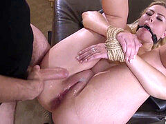 Facefucked and dominated honey gets penalized