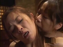 2 Busty Asian Woman Kissing Sucking Nipples Rubbing Their Tits On The Floor In The Roo