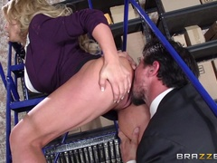 Big Tits at Work (Brazzers): The Corporate Ladder