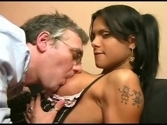 Ladyboy and additionally dad, muscled t girl - episode 01