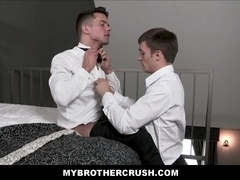Young Straight Step Brother Family Sex With Gay Twink Step Brother Before His Wedding