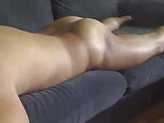 Couch humping quick orgasm