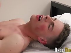 Tied up stepson creampied