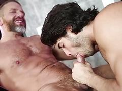 Diego Sans and Dirk Caber have a daddy fuck