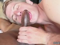 Seth Bond takes a big black cock