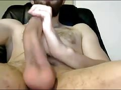 Romanian Str8 Guy Delivers Again a Huge Cum Shower #110