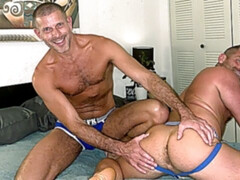 Clay Towers and Jacob Woods take turns bottoming
