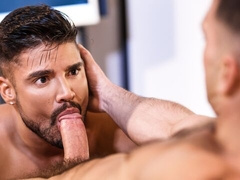 Conference room anal with Paddy O'Brian and Dann Grey