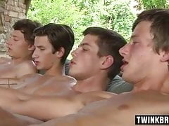 5 Hard, Wet, Beautiful, Young Cocks
